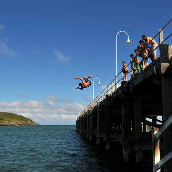 Coffs Harbour Jetty Jumping